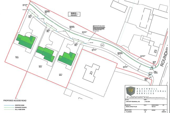 Thumbnail Land for sale in Roundhill Road, Hurworth On Tees