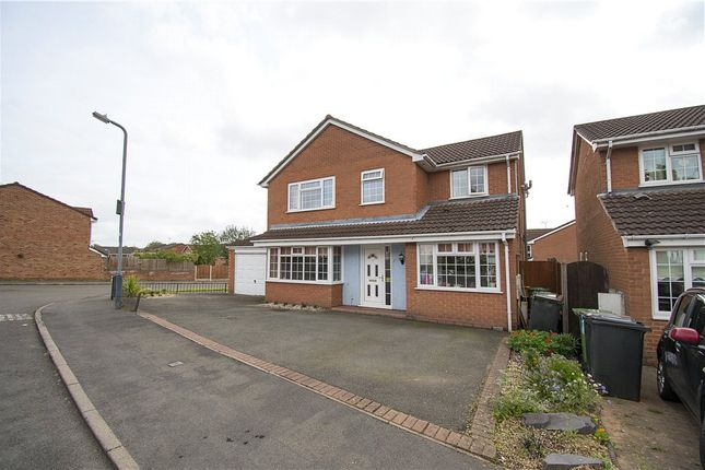 Thumbnail Detached house for sale in Hardy Close, Galley Common, Nuneaton, Warwickshire
