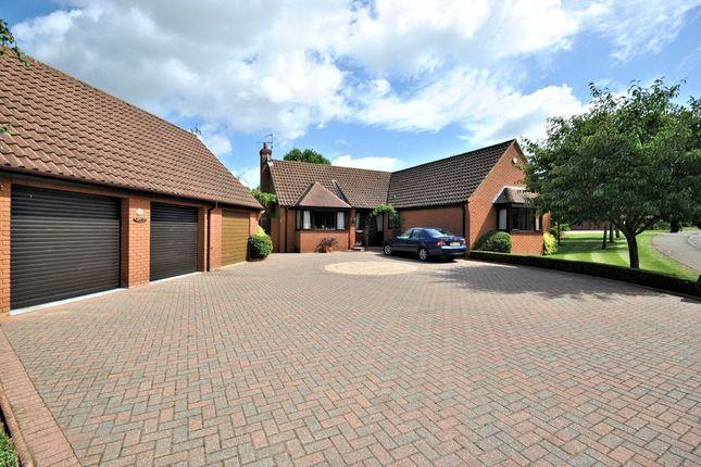 Thumbnail Detached bungalow for sale in Arlington Park Road, Middleton, King's Lynn