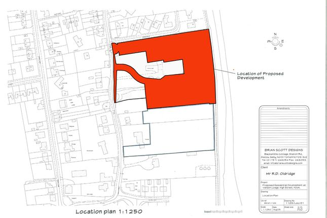 Thumbnail Land for sale in Residential Building Land, High Street, Hook