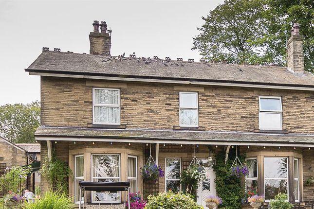 Thumbnail Detached house for sale in Elder Lea House, Clough Lane, Brighouse