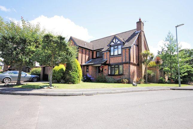 Thumbnail Detached house for sale in Erica Close, Locks Heath, Southampton