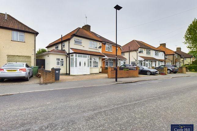 Thumbnail Semi-detached house for sale in Walnut Tree Road, Heston, Hounslow.