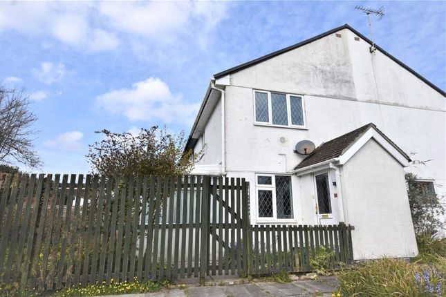 Thumbnail End terrace house to rent in Tamar Close, Callington, Cornwall