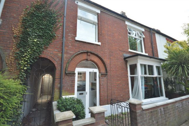 Thumbnail Terraced house for sale in Beatrice Road, Thorpe Hamlet, Norwich, Norfolk