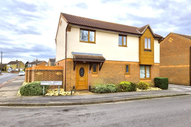 Thumbnail Detached house for sale in Cardinal Hinsley Close, Newark