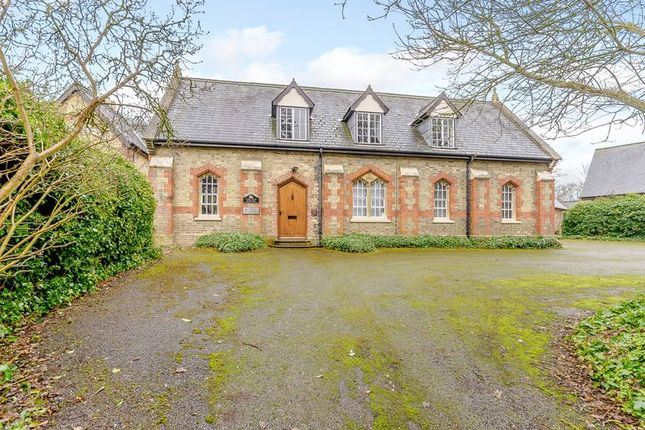 Thumbnail Detached house for sale in The Old School & School House, Church Street, Alwalton, Peterborough