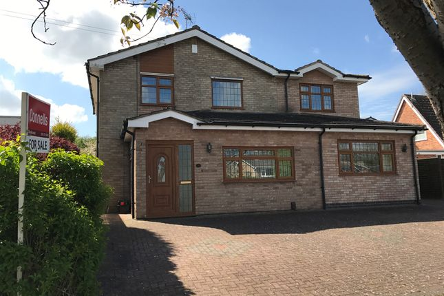 Thumbnail Detached house for sale in Copse Close, Oadby, Leicester