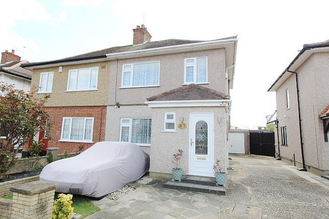3 bed semi-detached house for sale in Dorset Avenue, Hayes, Middlesex UB4