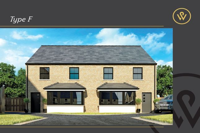 Thumbnail Semi-detached house for sale in Wyndell, Donaghadee Road, Newtownards