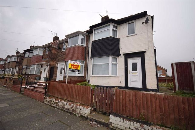 Thumbnail 3 bed semi-detached house to rent in Sumner Road, Prenton, Merseyside