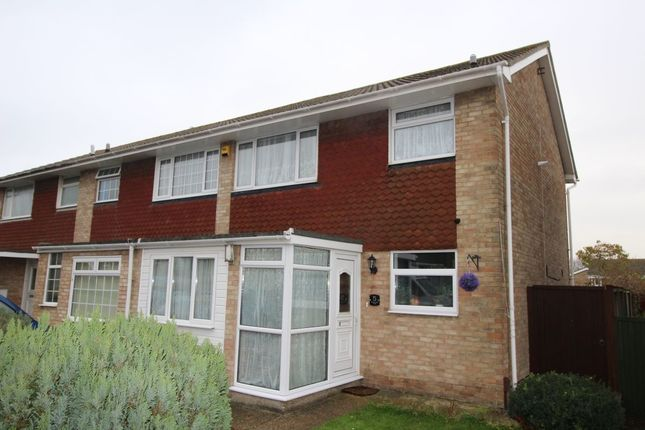 Thumbnail Terraced house for sale in Buttermere Close, Folkestone