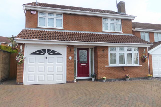 Thumbnail Detached house to rent in Lilac Way, Melton Mowbray