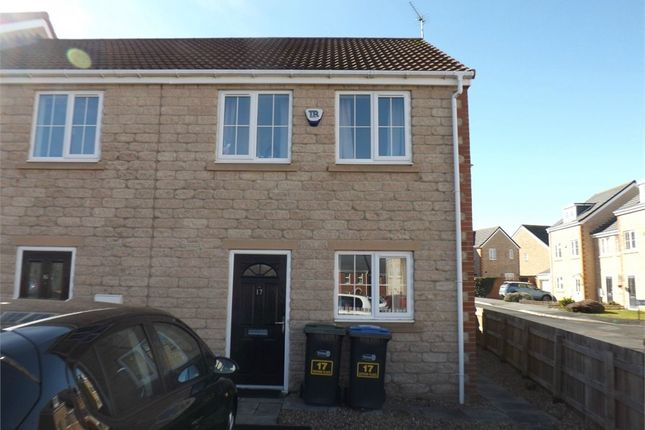 Thumbnail End terrace house to rent in Oxford Place, Consett, Durham