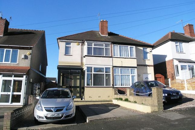 Thumbnail Semi-detached house for sale in Dudley, Netherton, Cradley Road