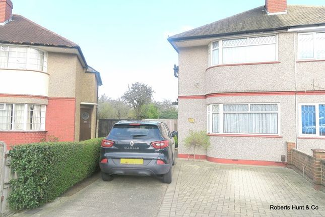 Thumbnail Semi-detached house for sale in Kingston Avenue, Feltham
