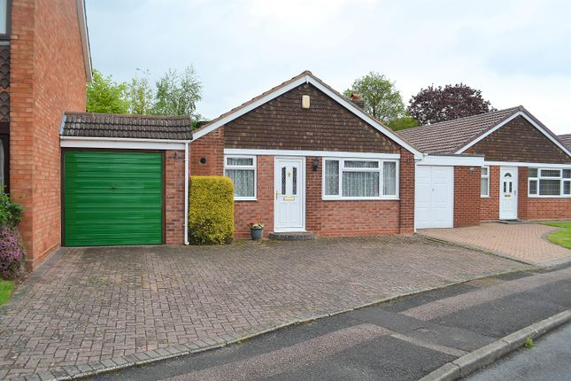 Thumbnail Bungalow for sale in Darwin Close, Lichfield