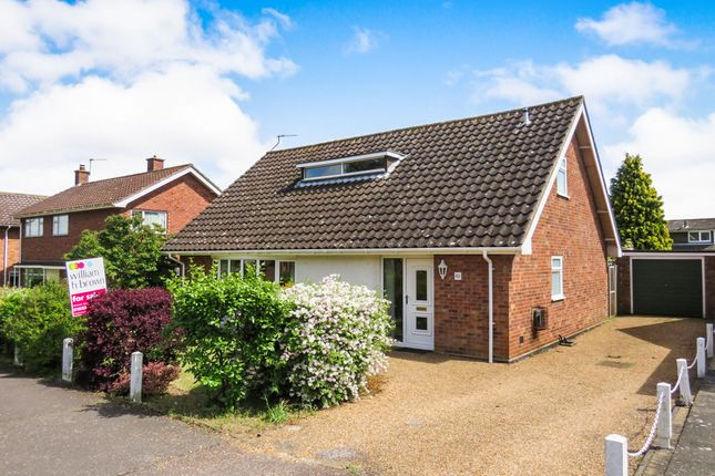 Thumbnail Bungalow for sale in Brettingham Avenue, Cringleford, Norwich