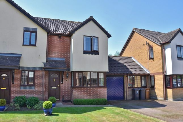 Thumbnail Semi-detached house to rent in Cromwell Close, Bishop's Stortford
