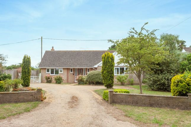 Thumbnail Detached bungalow for sale in Hulver Road, Mutford, Beccles