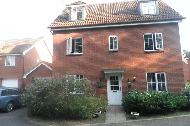 Thumbnail Detached house to rent in Benet Close, Thetford