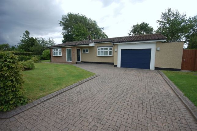 Thumbnail Detached bungalow for sale in Hawthorn Way, Ponteland, Newcastle Upon Tyne