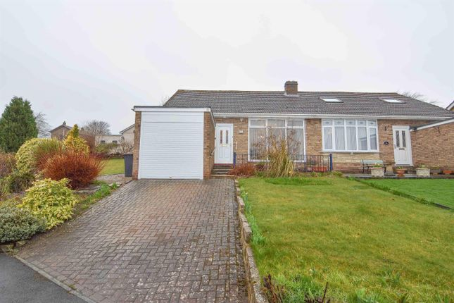 Thumbnail Semi-detached bungalow for sale in Foxhill Crescent, Lanchester