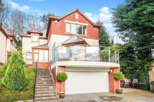 Thumbnail Detached house for sale in Manor Road, Risca, Newport