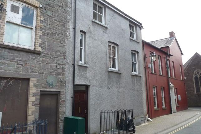 Thumbnail Flat to rent in Church Lane, Brecon