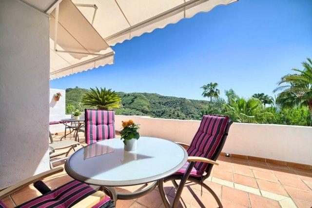 Terrace And View of Spain, Málaga, Benahavís, La Quinta Golf