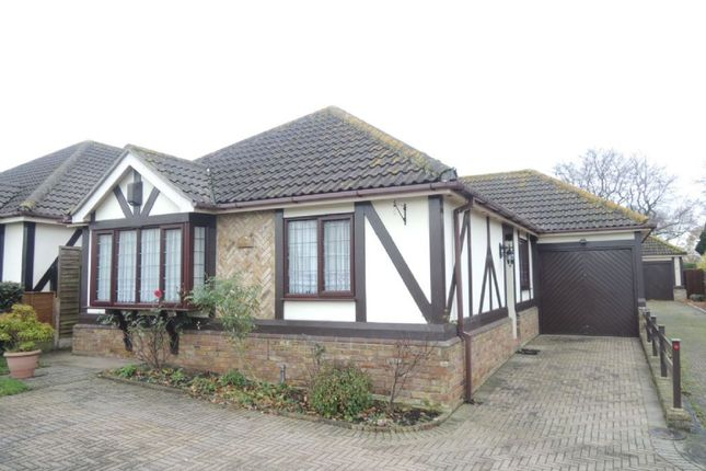 Thumbnail Detached bungalow for sale in Bridge Cottages, Sladburys Lane, Clacton-On-Sea