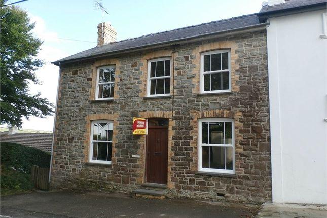 Thumbnail Semi-detached house for sale in Brynawel, Talgarreg, Llandysul