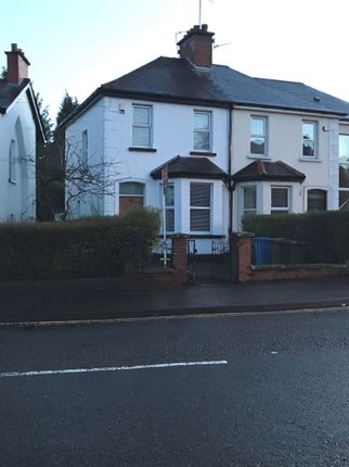 Thumbnail Semi-detached house to rent in Knockbreda Road, Belfast