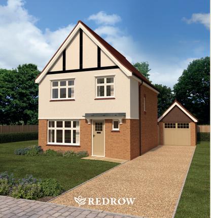Thumbnail Detached house for sale in Parc Plymouth At Plasdŵr, Clos Parc Radur, Cardiff