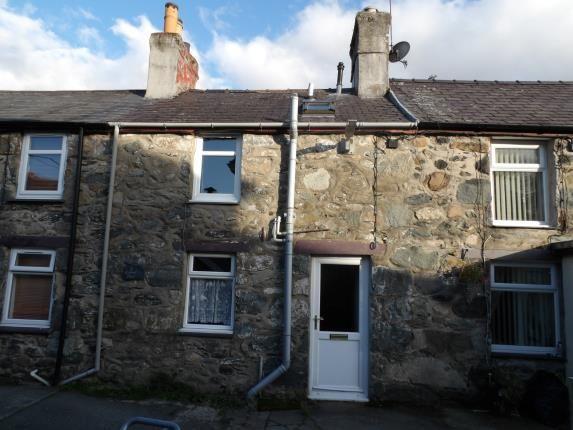 Thumbnail Terraced house for sale in Carmel Place, Llanllechid, Bangor, Gwynedd