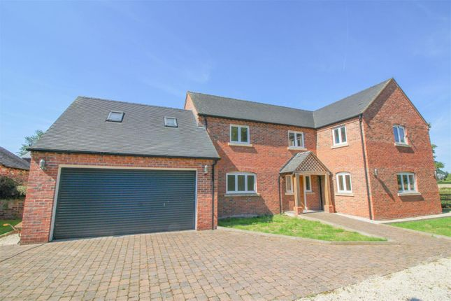 Thumbnail Detached house to rent in Heage Lane, Etwall, Derby