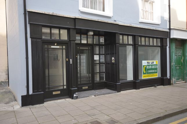 Thumbnail Retail premises to let in Market Street, Aberystwyth