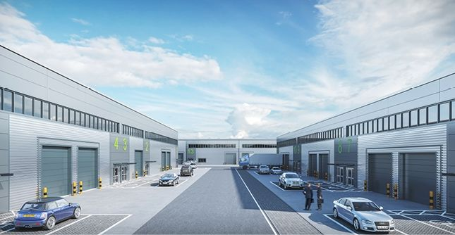 Thumbnail Warehouse to let in Ipswich, Cranes Business Centre, Crane Boulevard, Ipswich