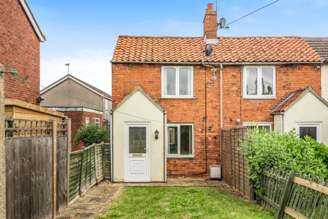 Thumbnail End terrace house for sale in The Square, Leasingham