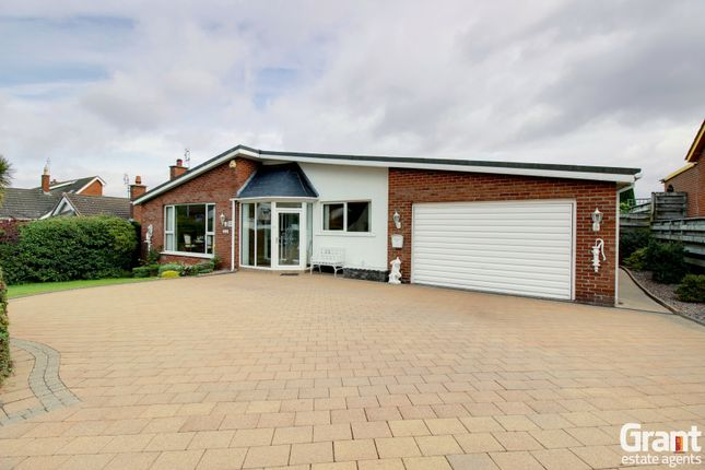 Thumbnail Detached bungalow for sale in Coniston Road, Bangor
