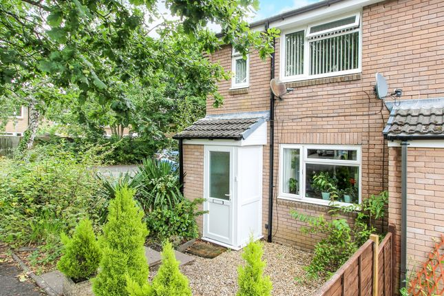 Thumbnail End terrace house for sale in Cotswold Close, Verwood
