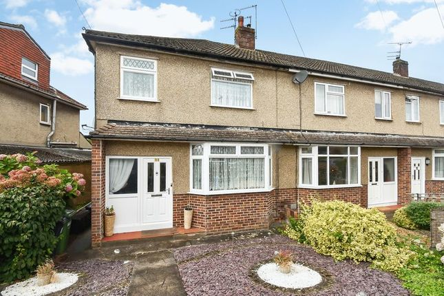 Thumbnail End terrace house for sale in Fouracre Road, Downend, Bristol