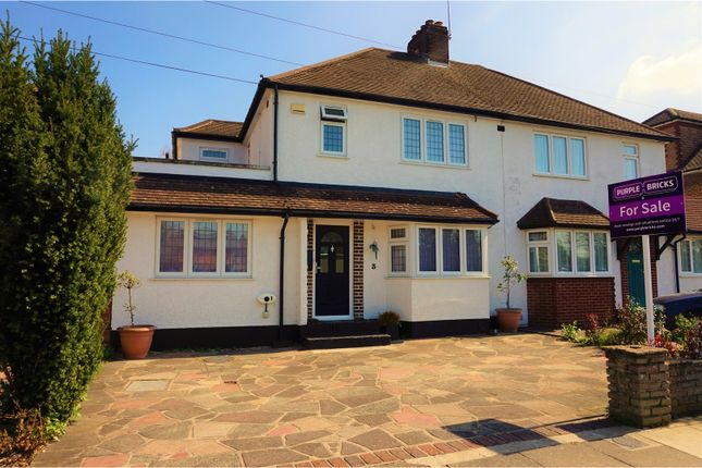 Thumbnail Semi-detached house for sale in East Way, Bromley