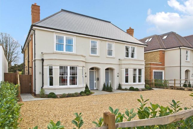 Thumbnail Semi-detached house for sale in Albany Villas, Ember Lane, Esher, Surrey