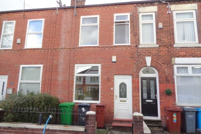 Thumbnail Terraced house to rent in Northfield Road, New Moston