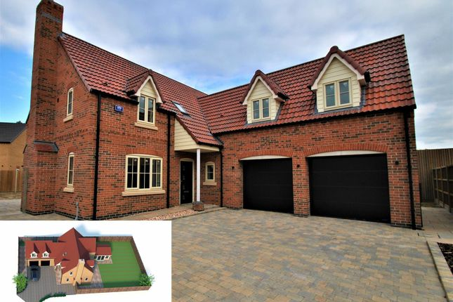 Thumbnail Detached house for sale in Claymond Court, Frampton Fen, Boston