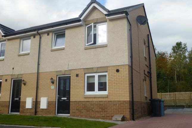 Thumbnail Semi-detached house for sale in Cambridge Crescent, Wallace Grove, Clarkston, Airdrie
