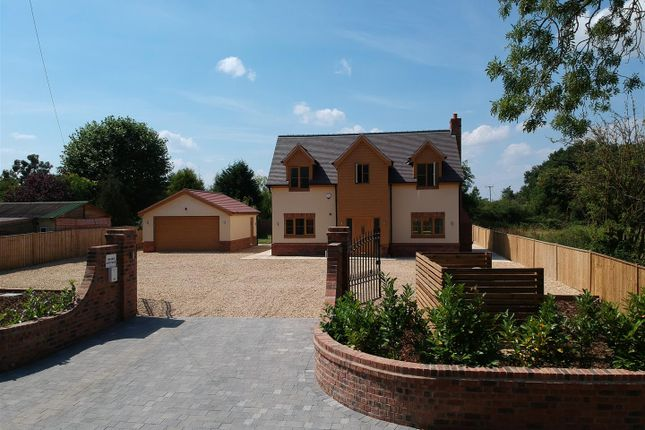Thumbnail Detached house for sale in Gorcott Hill, Beoley, Redditch