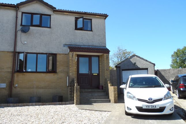 Thumbnail Semi-detached house to rent in Ashbrook, Bridgend