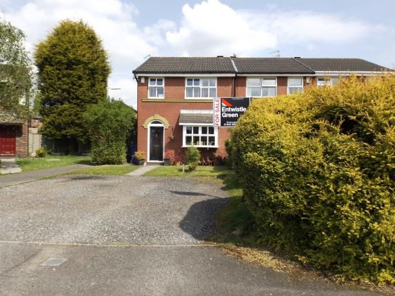 Thumbnail End terrace house for sale in The Cloisters, Westhoughton, Bolton, Greater Manchester